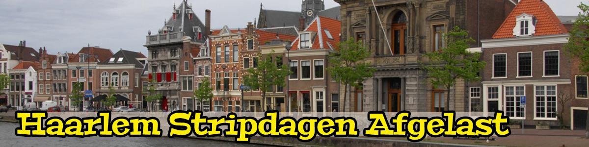 Haarlem stripdagen afgelast
