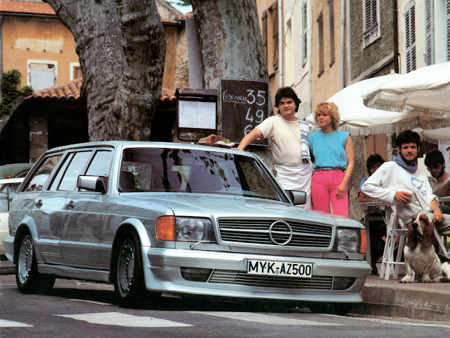 zender mercedes w126 shooting brake