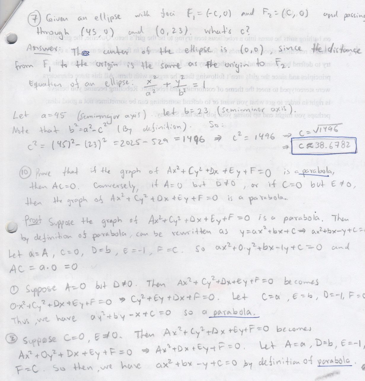 My old math homework from UC Berkeley : Math 152 hw4