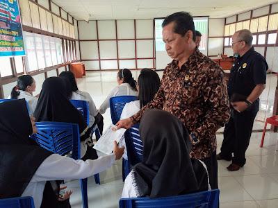 Komisi A DPRD Kapuas Hulu Tinjau Proses Tes CPNS