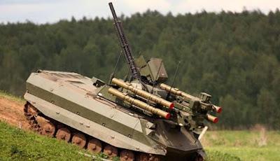 Uran-9 Combat Robot Armament
