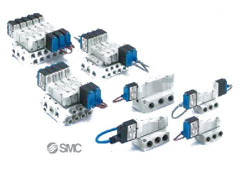 53-SY SMC Pneumatic Solenoid Valves - 5 Port