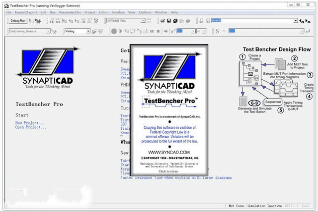 Screenshot SynaptiCAD Product Suite 20.42 Full Version
