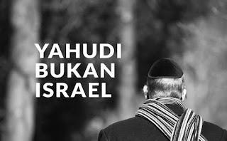 Yahudi Bukanlah Israel