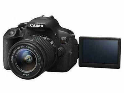 Canon EOS Kiss X7i DSLRファームウェアのダウンロード