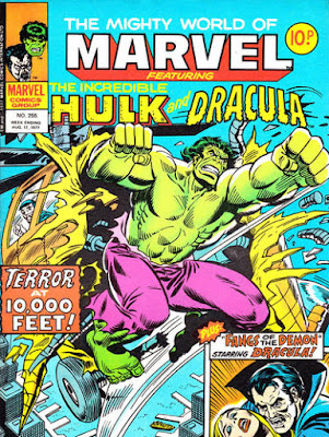 Mighty World of Marvel #255, the Hulk