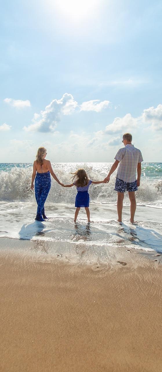 Family enjoying weekend.