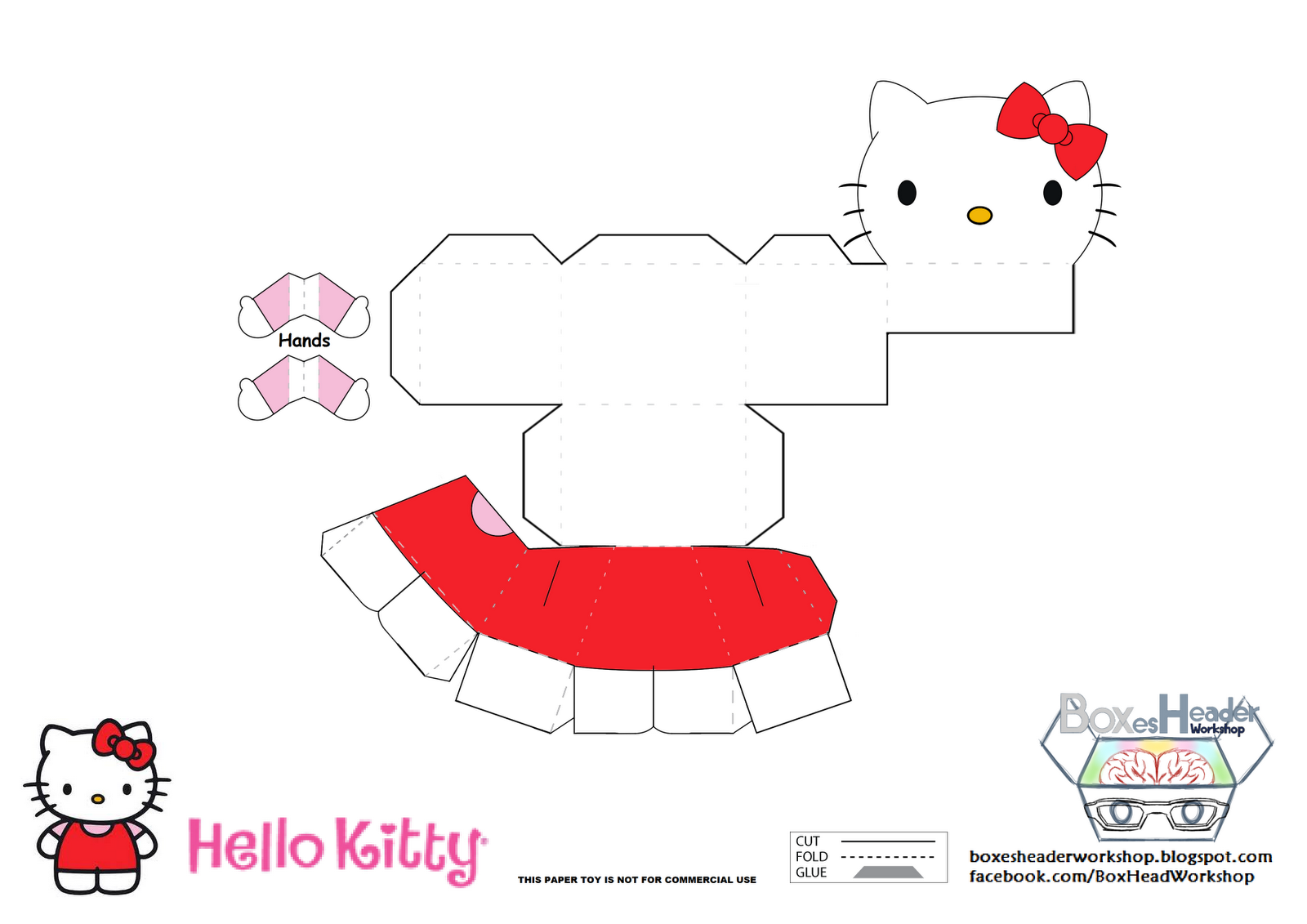29 images of hello kitty craft template | bfegy. Com.