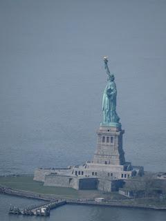 פסל החירות ממגדל החירות