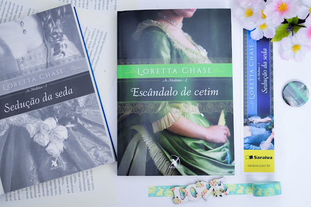 [Resenha] Escândalo de Cetim | Loretta Chase