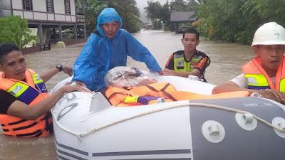 Empat Kecamatan di Kabupaten Barru Terendam Banjir