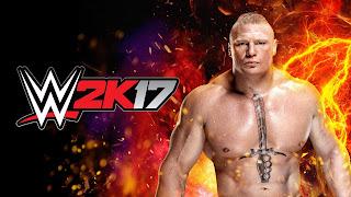 Brock Lesnar WWE 2K17 HD Wallpaper 1920x1080