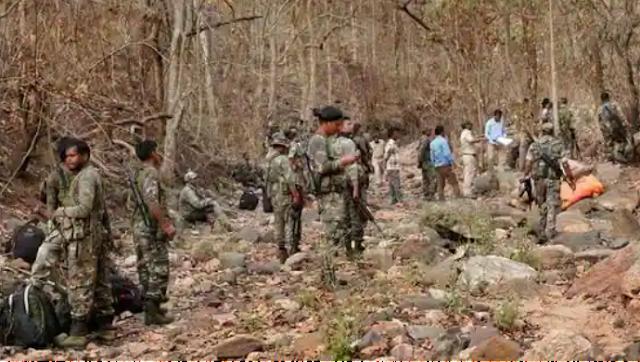 बीजापुर नक्सली हमले में भारतीय सेना के 20 जवान शहीद।