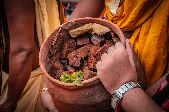 Delicous Poda pitha for Lord Jagannath