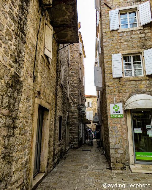 Streets of Budva Old Ciy III