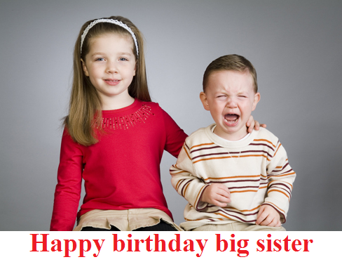 quotes about happy birthday big sister