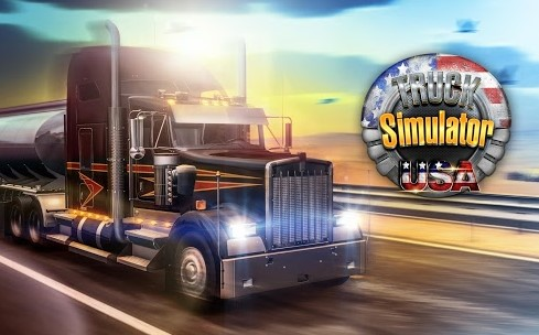 Truck Simulator USA Mod v1.2.0 Apk+Data (Unlimited Money)