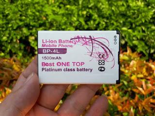 Baterai Nokia BP-4L Nokia E90 E72 E71 Best One Top Murah 1500mah