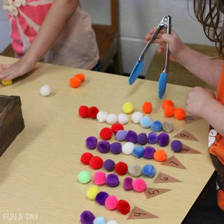 ice cream math summer activities for preschoolers