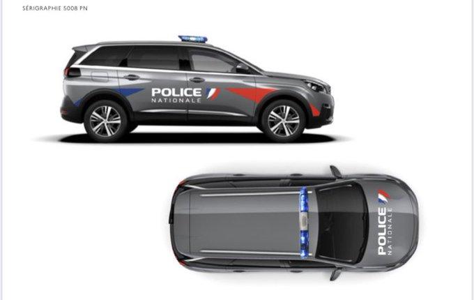 « Noël avant l'heure !? » La Police nationale s'équipe du SUV 5008 sorti des usines Peugeot