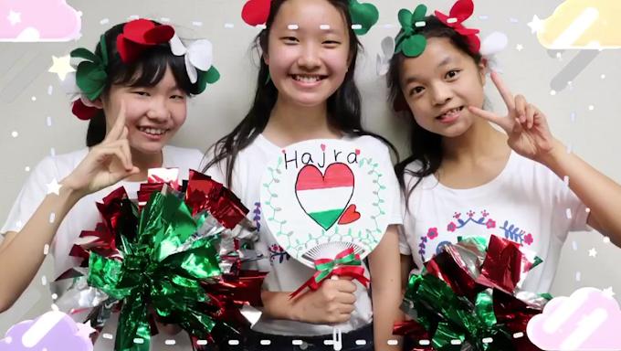Japán gyerekek énekelték az Éjjel soha nem érhet véget című dalt - Videó
