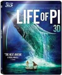Life of Pi 2012 (3D) Movie Download Dual [ English + Hindi ] HSBS 900mb