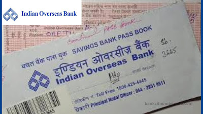 Check Indian Overseas Bank Balance by Passbook