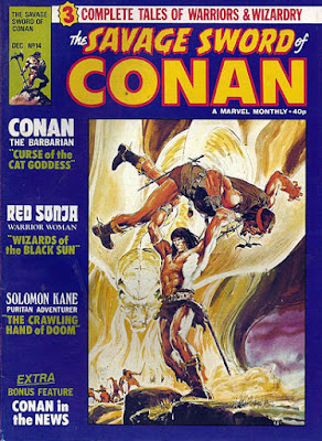 Savage Sword of Conan #14, Marvel UK