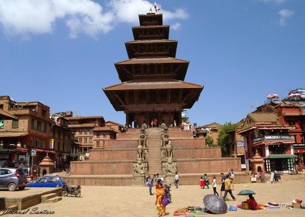 Bhaktapur, Tempio di Nyatapola