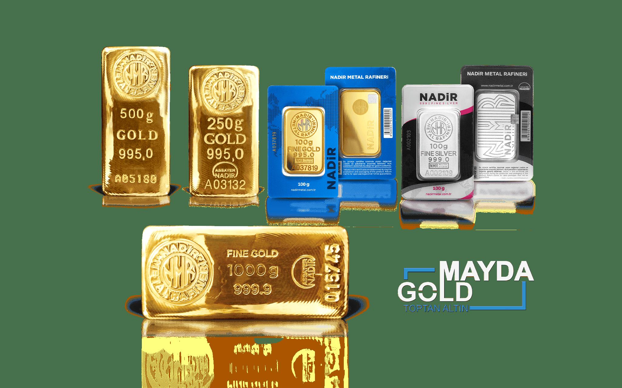 Mayda Gold Slayt