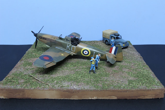 """Article détaillant la réalisation du diorama """"R.A.F WWII"""" mettant en scène un Boulton Paul Défiant D'Airfix."""