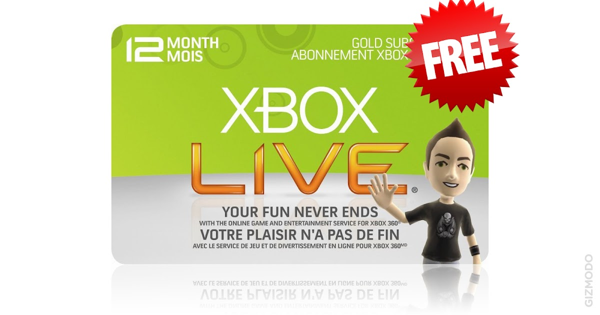 Xbox Live Gold Codes Generator Online: Free Xbox Live Gold