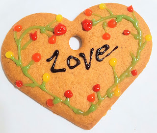 A Love Cookie - I couldn't find a picture of Lasagne!