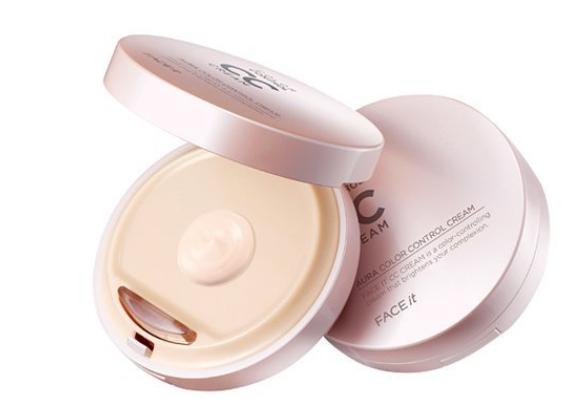 10. The Face Shop Face It Aura CC Cream