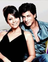 Pasangan Shah Rukh Khan-Gauri