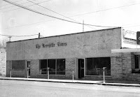 Kerrville Times offices on Earl Garrett Street