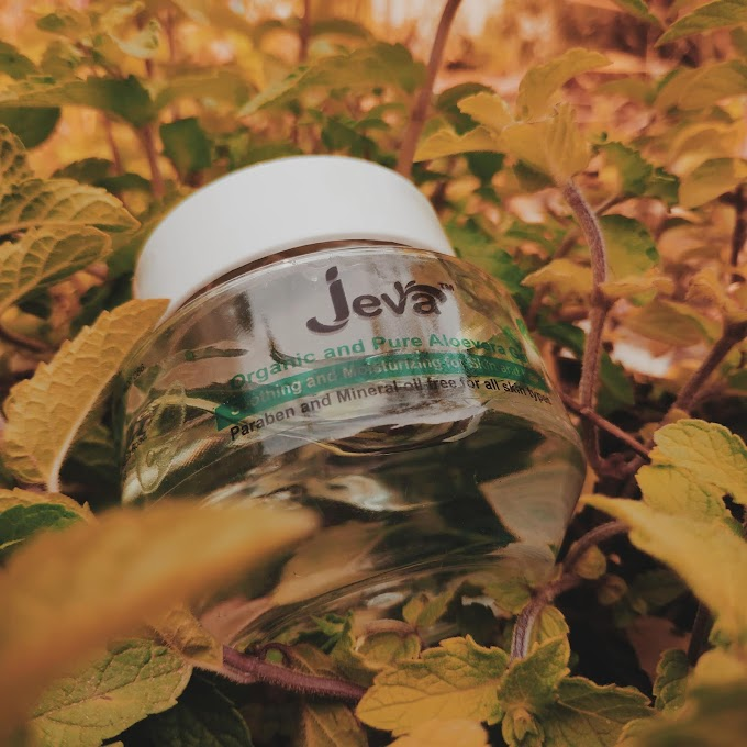 Jeva Pure Aloe Vera Gel Review    Best Affordable Organic Aloe Vera Gel?    Peachypinkpretty