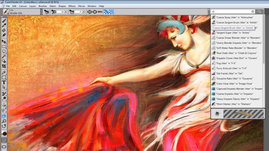 Corel Painter X3 screenshot 3
