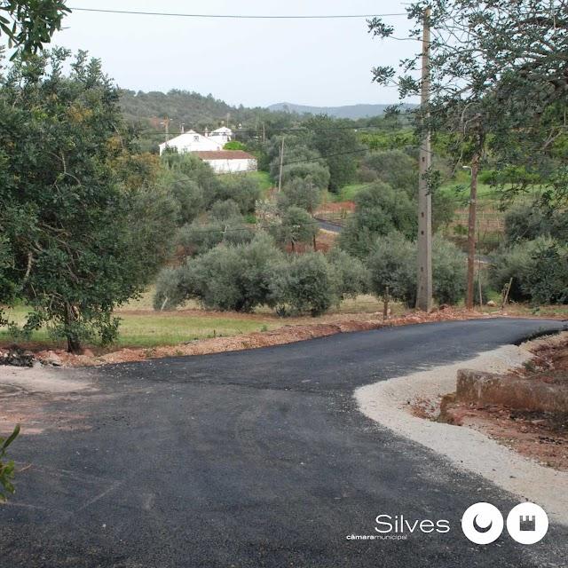 Município de Silves concluiu pavimentação de caminhos na freguesia de São Bartolomeu de Messines