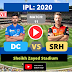 IPL 2020: Delhi vs Hyderabad, 11th Match, SRH is batting first