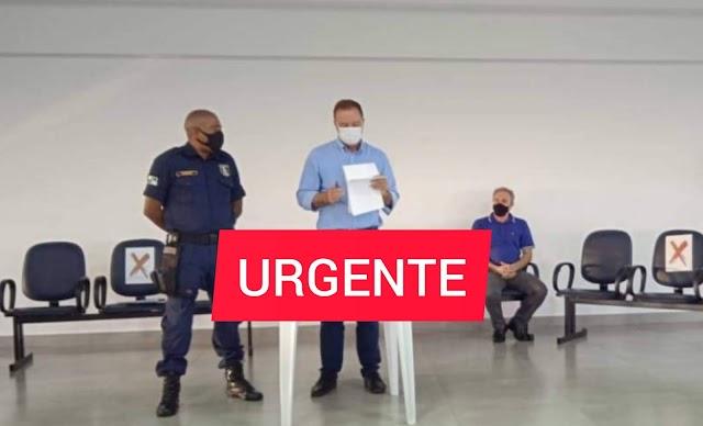 Urgente: Hélder Lazarotto anuncia que vai autorizar convênio para que Guarda Municipal tenha porte de arma