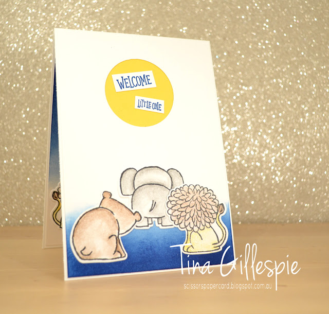 scissorspapercard, Stampin' Up!, Art With Heart, A Little Wild, Animal Outing