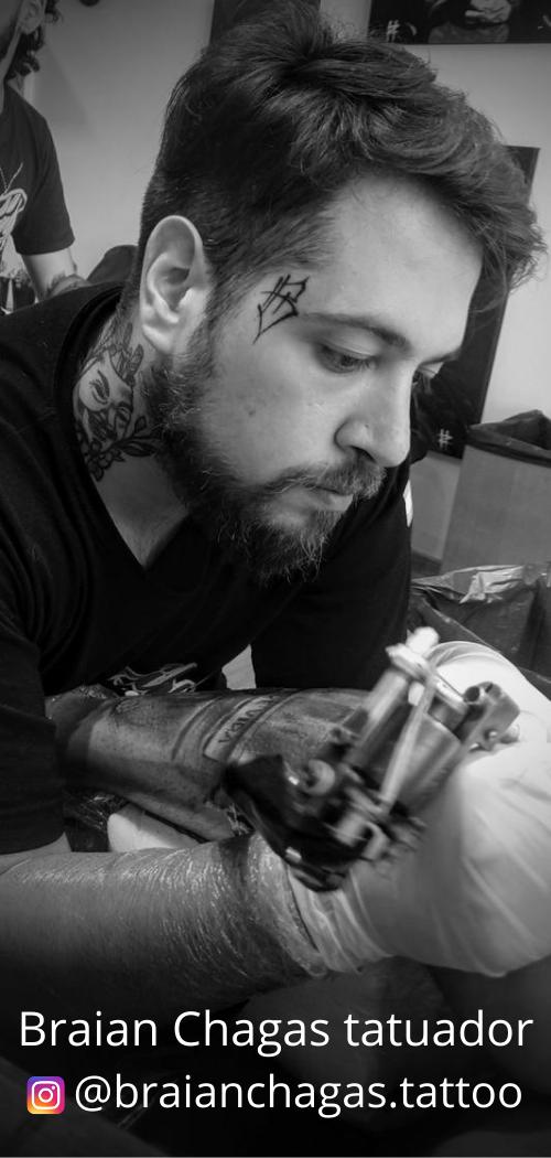 Braian Chagas tatuador