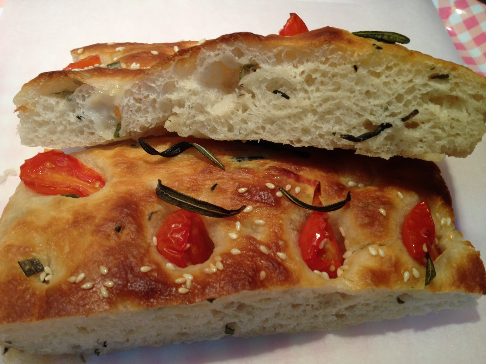Kymn Kitchen: Rosemary and onions Focaccia