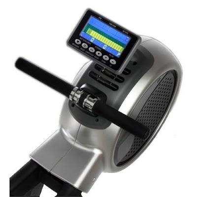 Ecran LCD du rameur aéro magnétique DKN R400