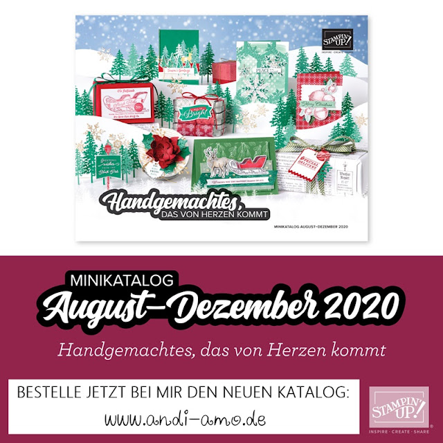 Stampin Up Minikatalog August-Dezember 2020