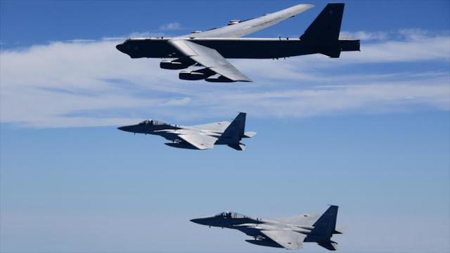 EEUU y Japón hacen maniobras pese a deshielo con Pyongyang