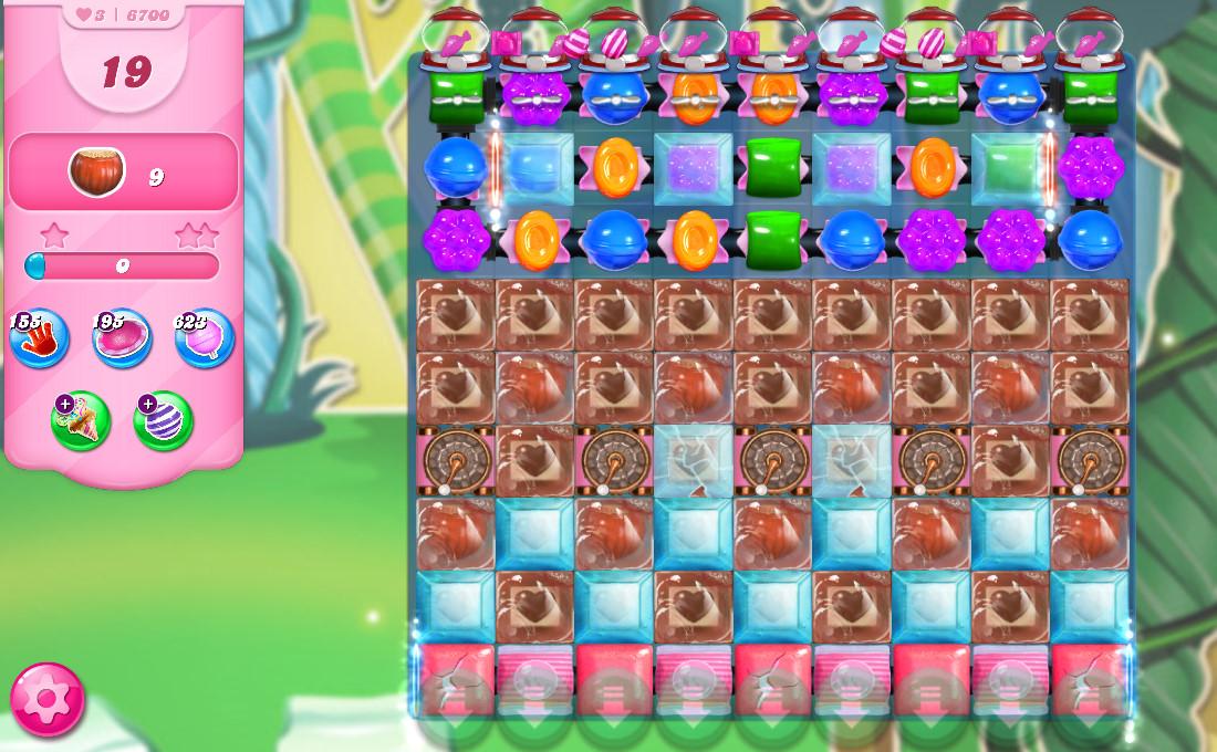 Candy Crush Saga level 6700