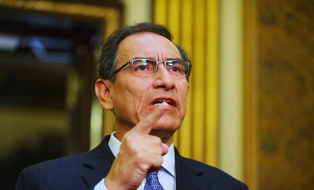 """Vizcarra sostuvo que se tiene que llegar al fondo de la verdad en el caso Odebrecht """"caiga quien caiga y cueste lo que cueste"""", y consideró que hostigar o cambiar a los fiscales no es un buen mensaje."""