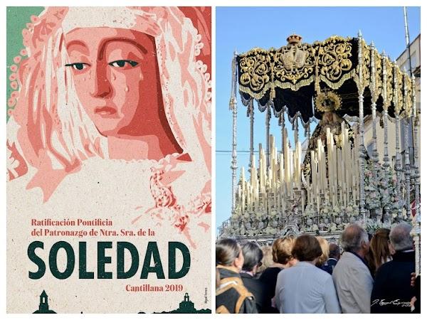 La Procesión Extraordinaria de la Soledad de Cantillana se aplaza al domingo por la mañana